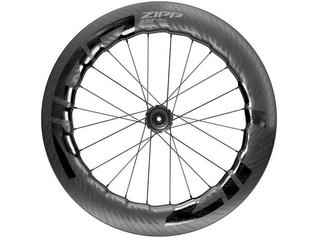 "Zipp 858 NSW Rueda Trasera 28"" 12x142mm Carbon Disc CL Tubeless Shimano, negro"